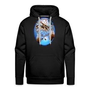 Pipe, Wolf, Arrows - Men's Premium Hoodie