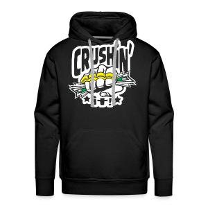 Crushin' it! Brass Knuckles - Men's Premium Hoodie