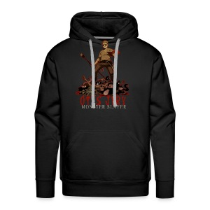 Otis Jiry Monster (Black) - Men's Premium Hoodie
