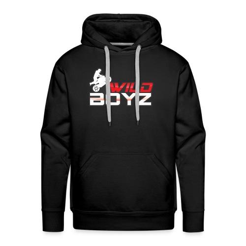 Men's WildBoyz Black Hoodie - Men's Premium Hoodie