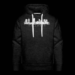 Columbus Skyline Hoodie - Men's Premium Hoodie