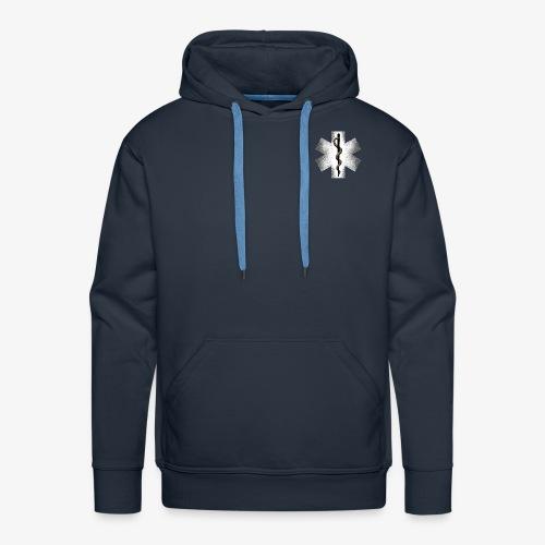 STAR OF LIFE Men's Hooded Sweatshirt - Men's Premium Hoodie