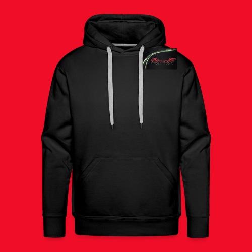 SIMPLE BLACK BIG CALF6 LOGO - Men's Premium Hoodie