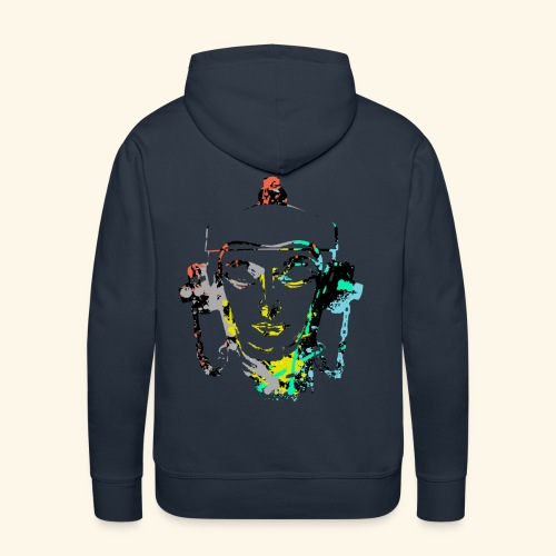 Fire hydrant with Headset by patjila2 - Men's Premium Hoodie