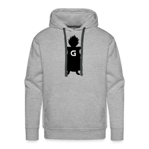 GLOhan Logo Hoodie for Men - Men's Premium Hoodie