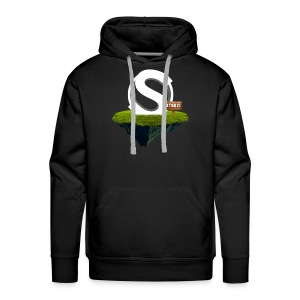 Stoozi Floating w/Sign - Men's Premium Hoodie