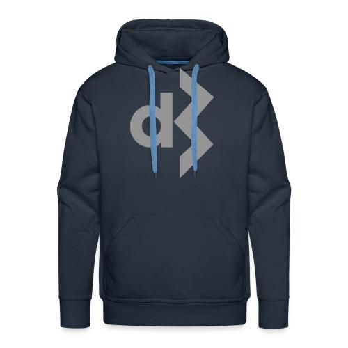 Grey DB Logo Hoodie - Men's Premium Hoodie