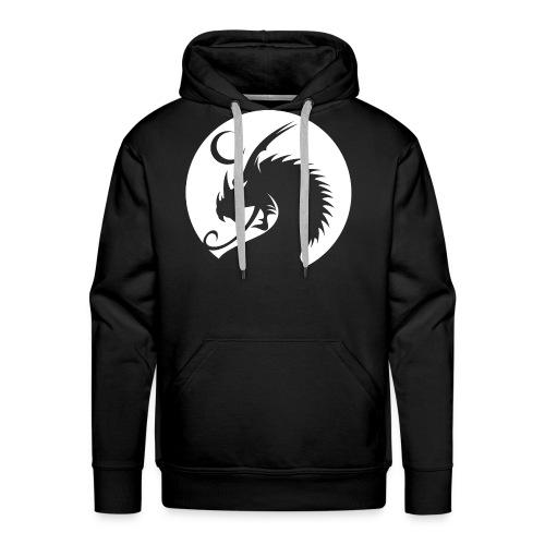 Enfantri Black/White Hoodie - Men's Premium Hoodie