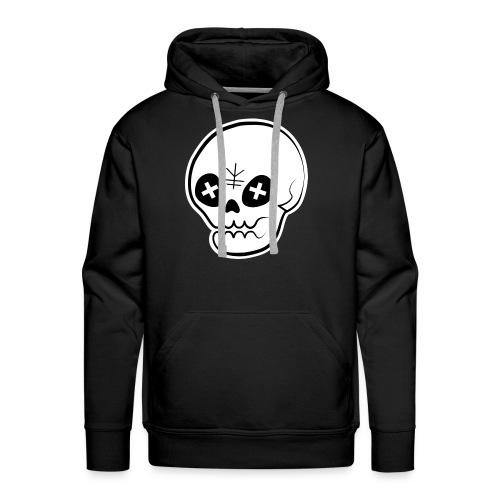 Kareki 枯れ木 Skull Prenium Hoodie - Men's Premium Hoodie