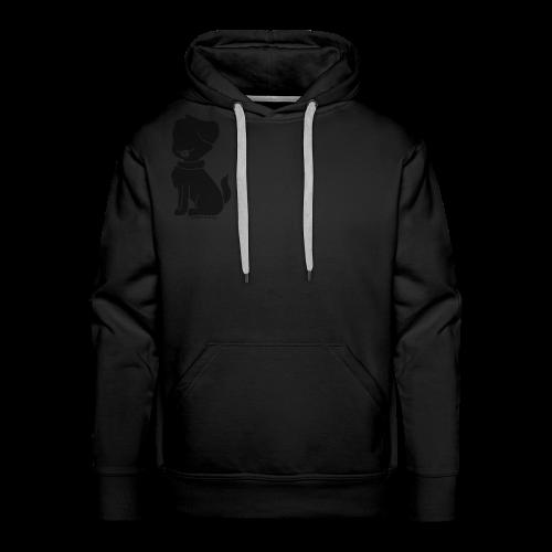 Dog silhouette mens hoodie - Men's Premium Hoodie