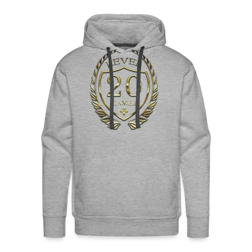Level 20 (Brass) Gamer Hoodie - Men's Premium Hoodie