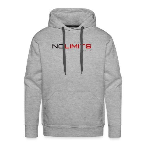 Moletom cinza com estampa NL eSports - Men's Premium Hoodie