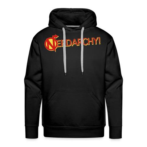 Nerdarchy Logo Men's Premium Hoody - Men's Premium Hoodie