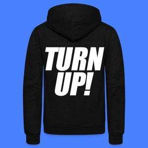Turn Up Zip Hoodies/Jackets - stayflyclothing.com - Unisex Fleece Zip Hoodie by American Apparel