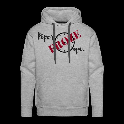 Piper Froze Ya. Hoodie (Men's) - Men's Premium Hoodie