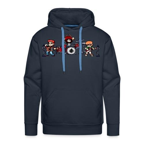 Pixel Band - Men's Premium Hoodie