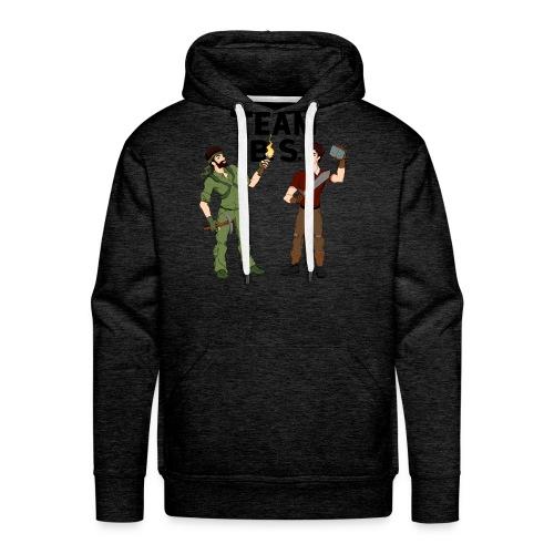 Team B.S. Men's Premium Hoodie (Style 2) - Men's Premium Hoodie