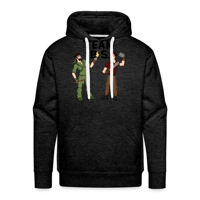 Team B.S. Men's Premium Hoodie (Style 2)