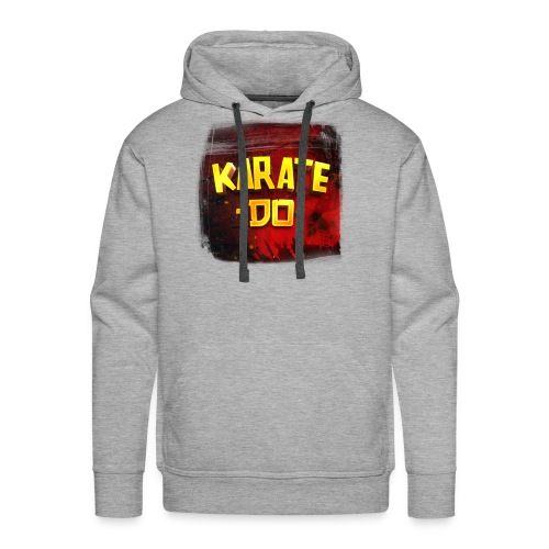 Karate Do - Premium  Hoodie (heather gray) - Men's Premium Hoodie