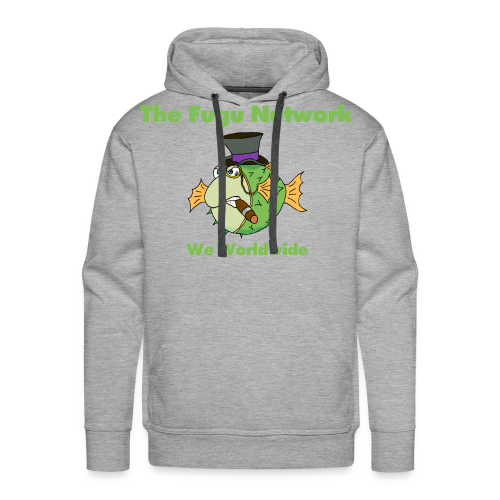 The Fugu Network Premium Mens Hoodie - Men's Premium Hoodie