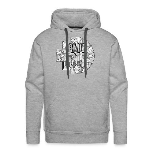 RMITCU Grey Hoodie (Greyscale Logo) - Men's Premium Hoodie