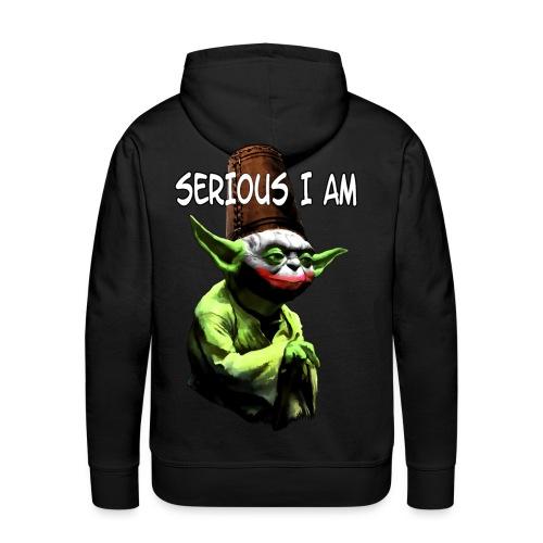 Serious I Am - Men's Premium Hoodie