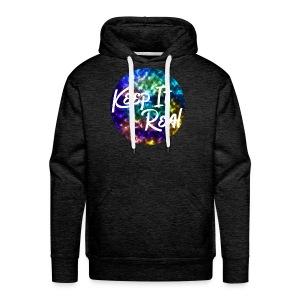 Keep it Real - Galaxy/ Marble Hoodie - Men's Premium Hoodie