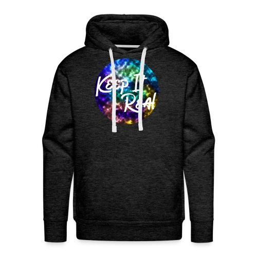 Keep it Real - Galaxy/ Marble Hoodie - Men's Premium Hoodie