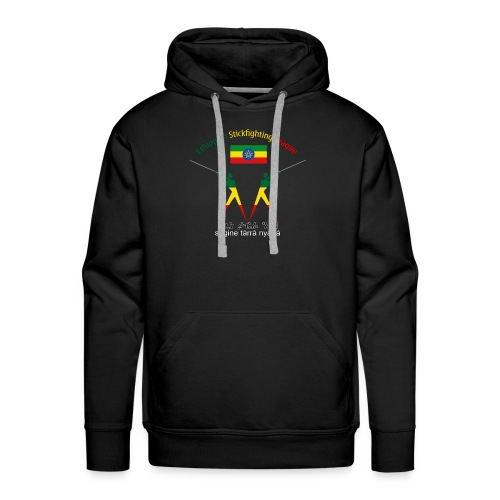 Ethiopian Stickfighting League Logo Hoodie - Men's Premium Hoodie
