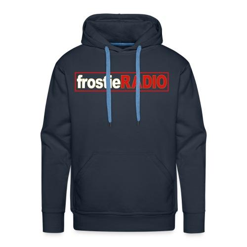 Mens frostieRADIO Hoodie (Navy Blue) - Men's Premium Hoodie