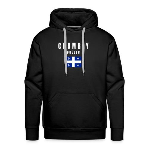 Chambly - Québec - Molleton à capuche Premium pour homme