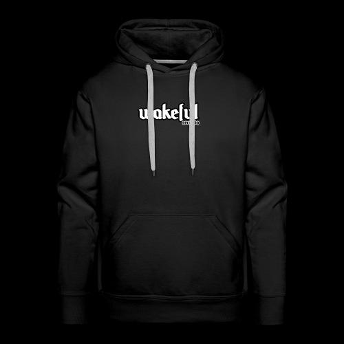 Wakeful Records Black Hoodie - Men's Premium Hoodie