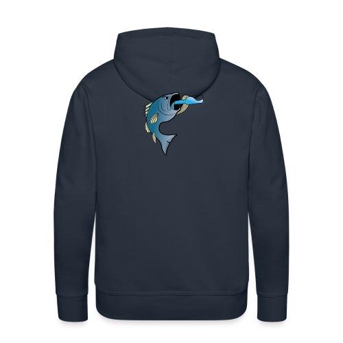 FishAholic Sweatshirt - Men's Premium Hoodie