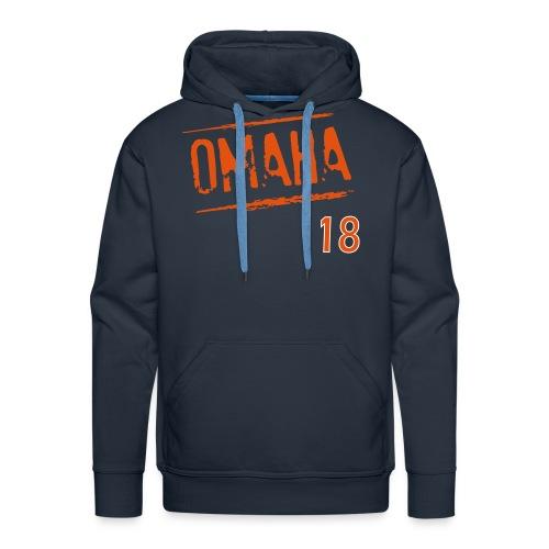 Omaha Blue Hoodie - Men's Premium Hoodie