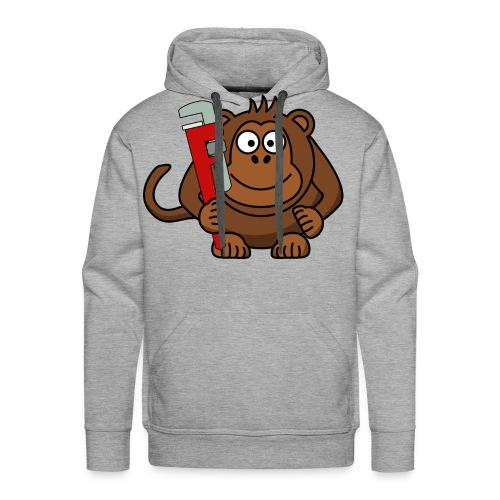 Monkey wrench hoodie - Men's Premium Hoodie