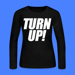 Turn Up Long Sleeve Shirts - stayflyclothing.com - Women's Long Sleeve Jersey T-Shirt
