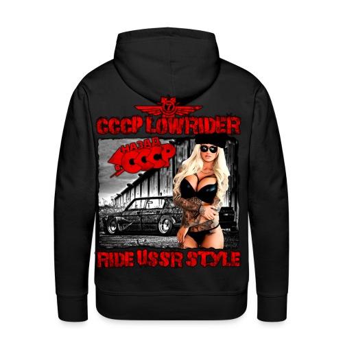 CCCP Lowrider 4 - Men's Premium Hoodie