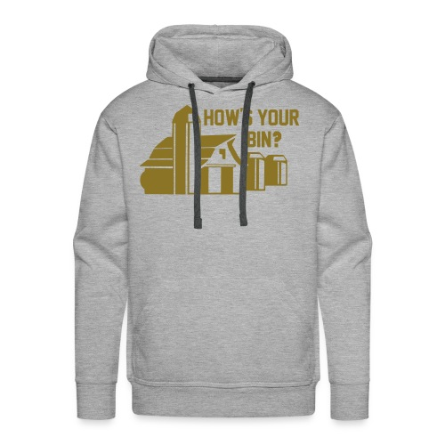 Hows Your Bin Premium - Men's Premium Hoodie