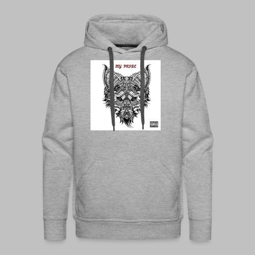 My Pride EP Men's Grey Hoodie - Men's Premium Hoodie