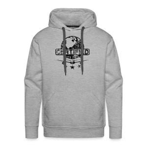 Men Premium Hoodie (black logo) - Men's Premium Hoodie