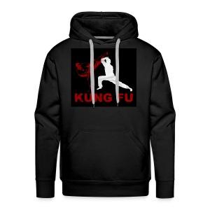 Kung Fu Men's Hoodie - Men's Premium Hoodie