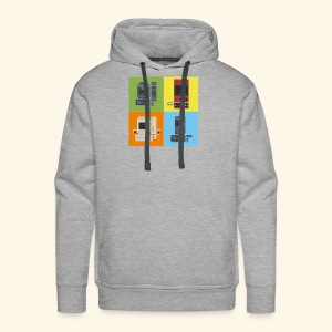 Japanese Computers - Men's Premium Hoodie