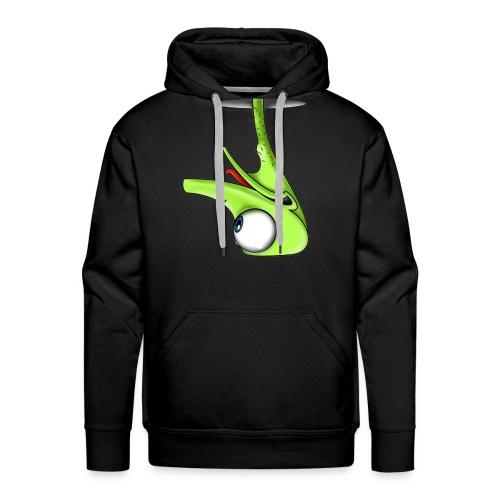 Funny Green Ostrich T-shirt - Men's Premium Hoodie