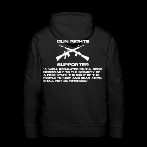 Gun Rights Amendment - Men's Premium Hoodie