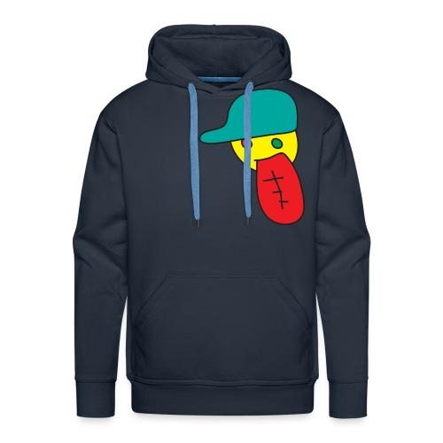large dope face hoodie - Men's Premium Hoodie
