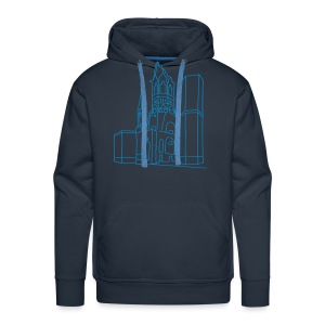 Memorial Church Berlin - Men's Premium Hoodie
