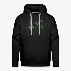 EKG Guitar - Men's Premium Hoodie