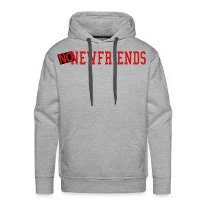 No New Friends Hey Arnold - Men's Premium Hoodie