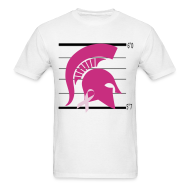 T-Shirts ~ Men's T-Shirt ~ Spartan's Help Fight Breast Cancer