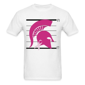 Spartan's Help Fight Breast Cancer - Men's T-Shirt